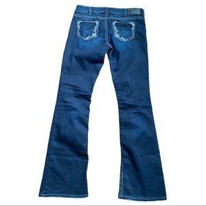 Silver Suki Bootcut Jeans Size 32